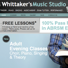 Whittaker's Music Studio