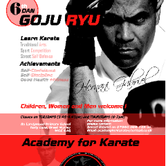 Academy for Karate Goju Ryu