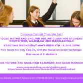 Conexus Tuition Cheshire East
